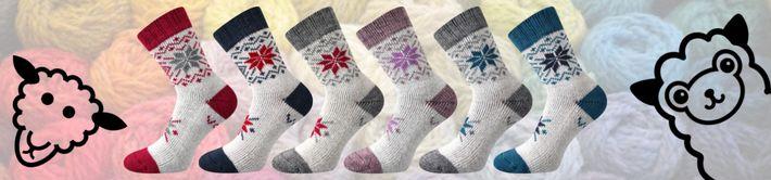 ALTA - vlněné thermo ponožky
