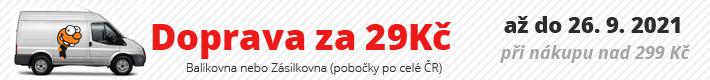 Ponožkožrout.cz - doprava akce