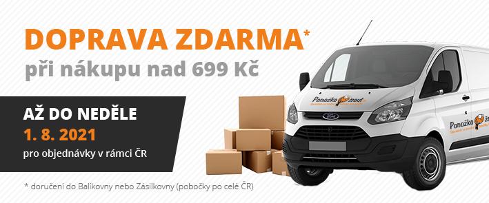 Ponožkožrout.cz - doprava zdarma