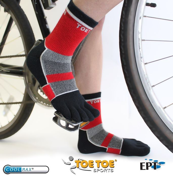 CYCLE sportovní prstové ponožky ToeToe