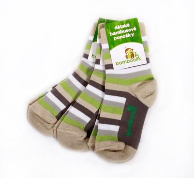 Dětské bambusové ponožky Bamboolik