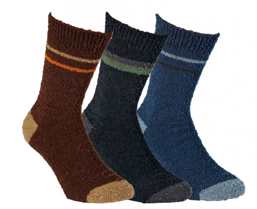 Pánské teplé vlněné ponožky RS
