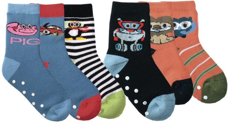 Dětské froté bavlněné ABS ponožky RS - 1pár