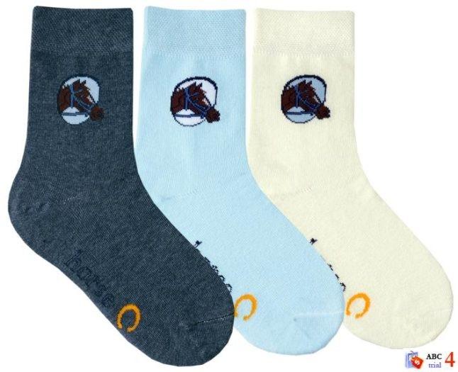 Módní dívčí bavlněné ponožky RS