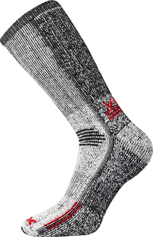 ORBIT extra teplé vlněné merino ponožky Voxx