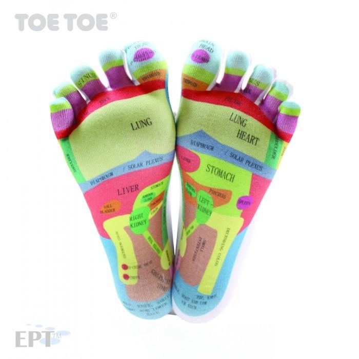 REFLEXOLOGY komfortní prstové ponožky ToeToe