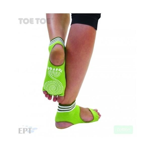 c7f6af2e440 HEEL bezprstové joga ABS protiskluzové ponožky ToeToe - Ponožkožrout ...