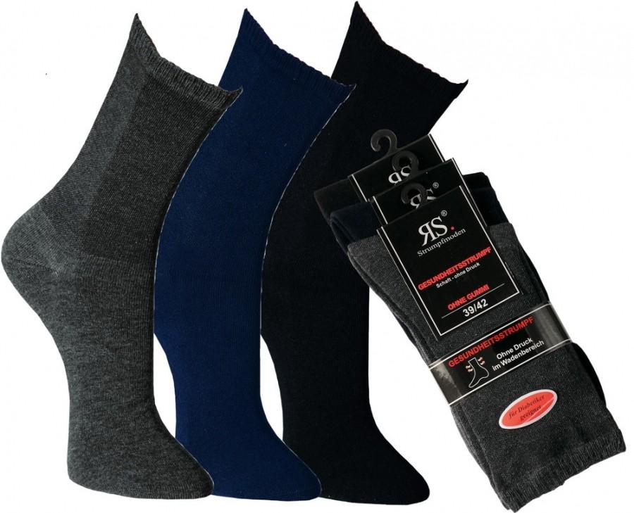 DIABET zdravotní bavlněné ponožky RS