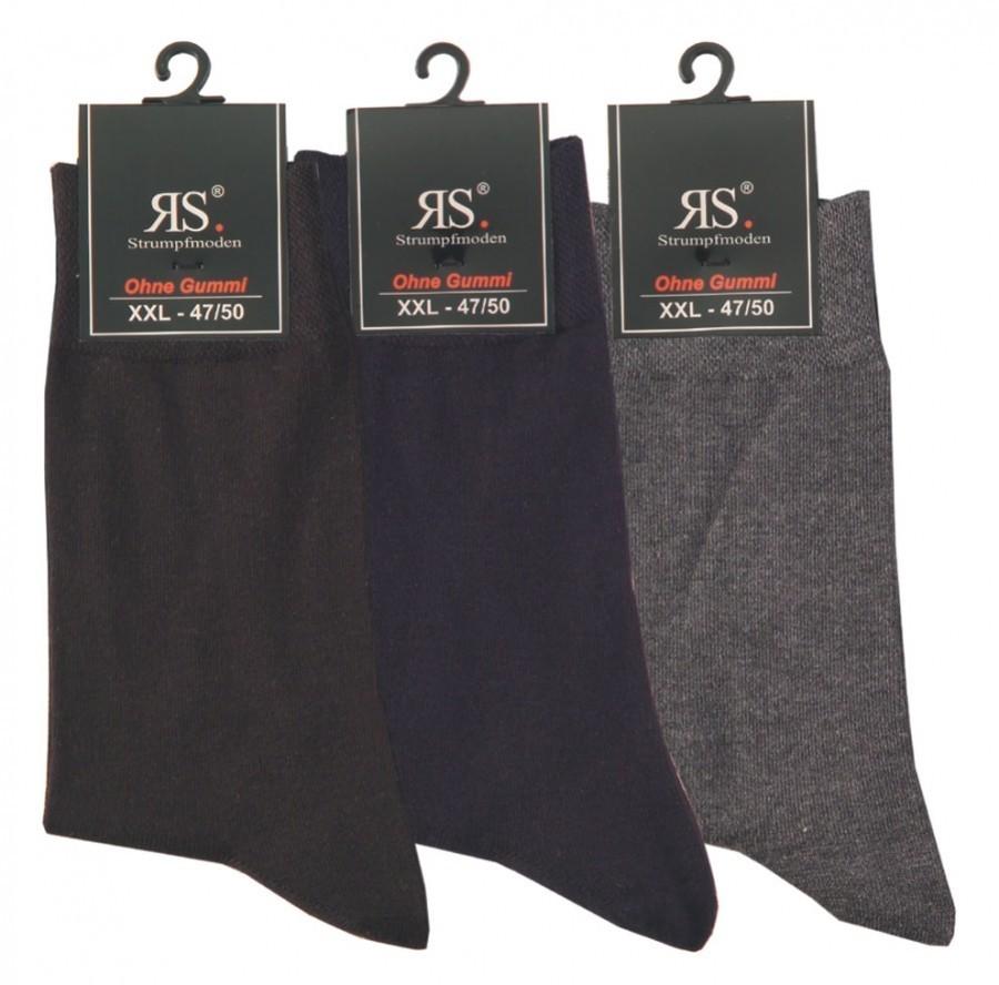 Pánské nadměrné bavlněné XXL ponožky RS