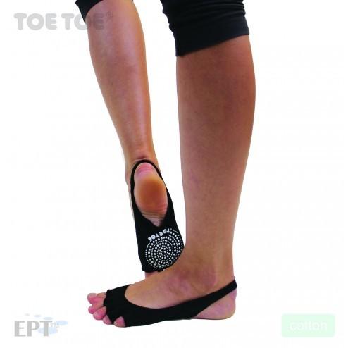 SOLE OPEN bezprstové joga ABS protiskluzové ponožky ToeToe