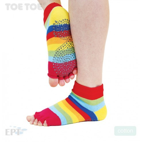JOGA NO FINGER trainer bezprstové ponožky protiskluzové ToeToe