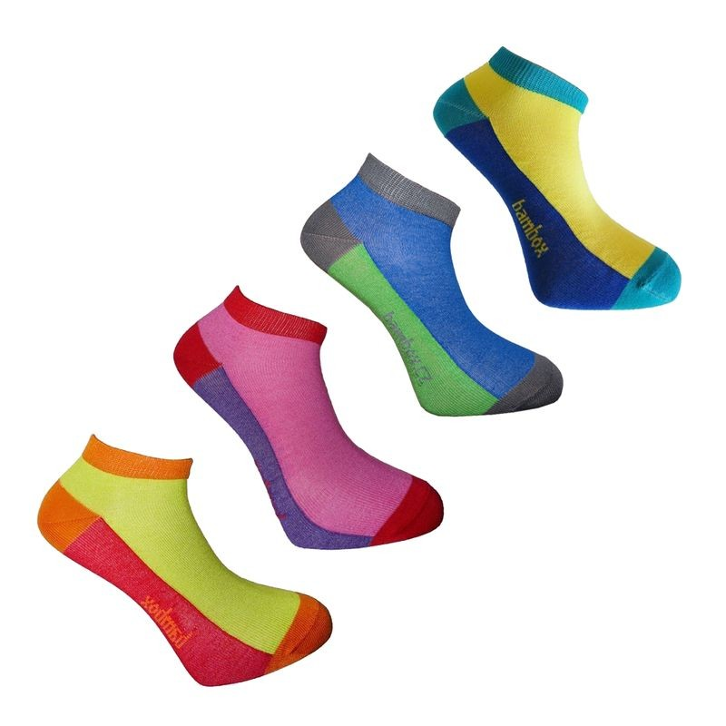 SNEAKER FUN nízké bambusové ponožky BAMBOX