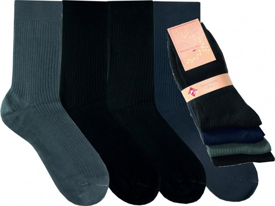 PURE 100% bavlněné ponožky RS