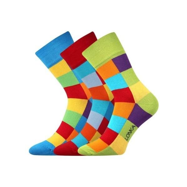 567637e8d92 DECUBE barevné společenské ponožky Lonka - Ponožkožrout.cz - ponožky ...