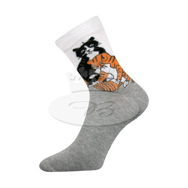 4e466c88ef8 XANTIPA dámské vzorované ponožky Boma ...