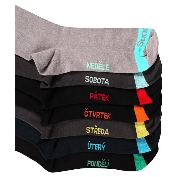WEEK pánské barevné ponožky Boma - Ponožkožrout.cz - ponožky ... 98b1cb2f46