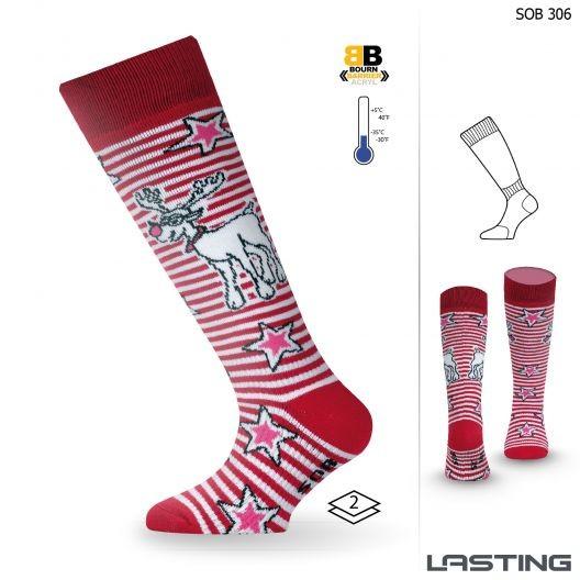 SOB dětské lyžařské ponožky