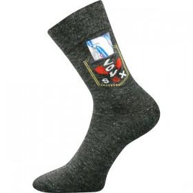 KAPSIK speciální pánské vtipné ponožky s prezervativem Boma ... 51283b1182