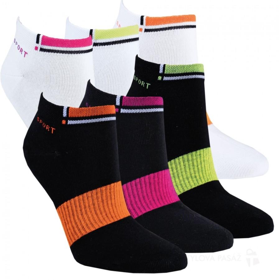 Dámské bavlněné nízké ponožky RS