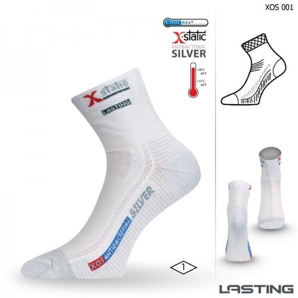 XOS trekingové ponožky se stříbrem Lasting - Ponožkožrout.cz ... c3b5d8a4e0