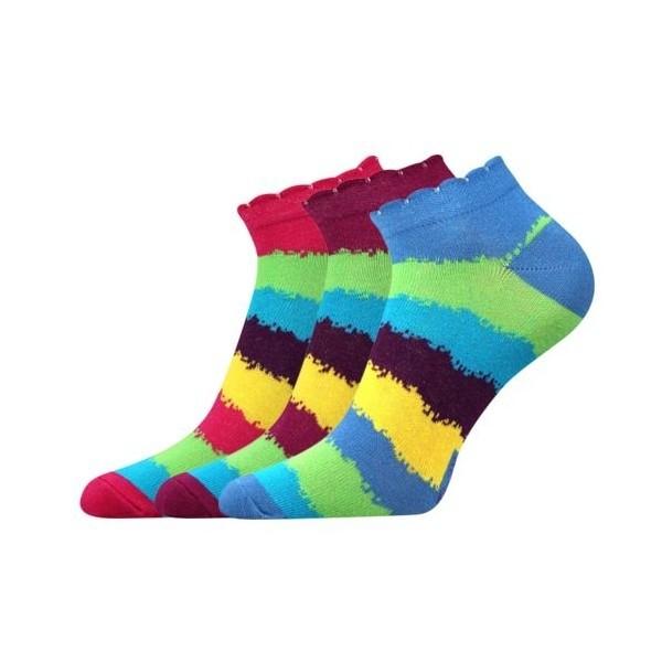 PIKI 39 nízké barevné ponožky Boma - Ponožkožrout.cz - ponožky ... 00c117cd56