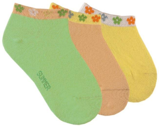 Dívčí letní bavlněné ponožky RS