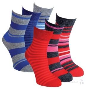 Dětské dívčí i chlapecké bavlněné ponožky RS