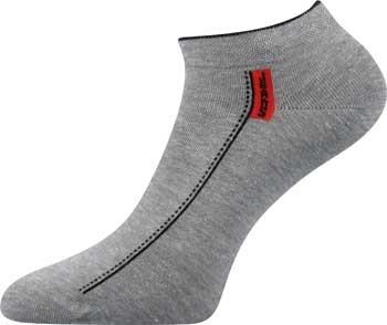 RAJEN nízké vzorované ponožky Lonka