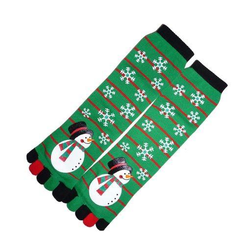 Vánoční prstové ponožky - motiv VÁNOC
