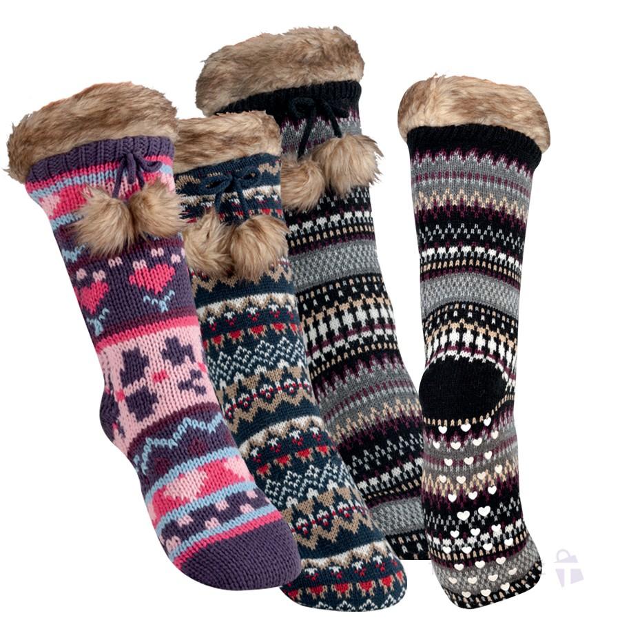 Luxusní dámské dárkové ponožky RS