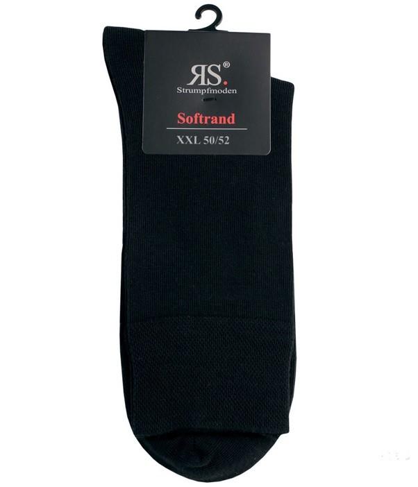 Pánské bavlněné nadměrné zdravotní ponožky RS