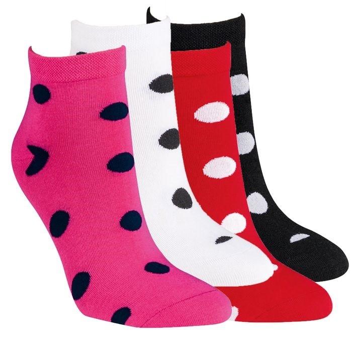 Kotníkové módní dámské ponožky RS