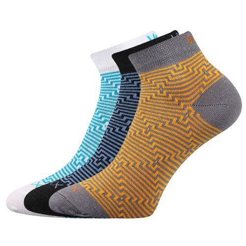 MAXIM 01 barevné kotníčkové ponožky Voxx