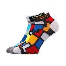 43b4a533847 MAXIM 02 barevné kotníčkové ponožky Voxx - Ponožkožrout.cz - ponožky ...