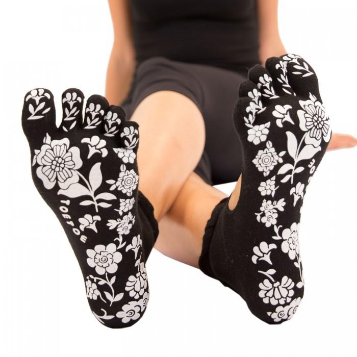 SERENE joga prstové ponožky s protiskluzem ToeToe