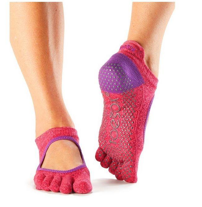 BELLARINA prstové protiskluzové ponožky ToeSox - NEW 2017