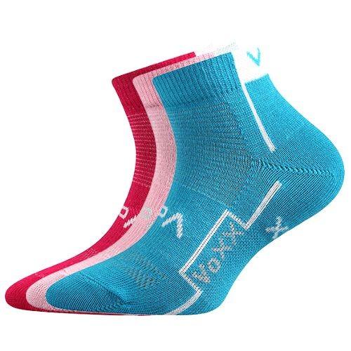 KATOIK dětské kotníčkové ponožky se stříbrem Voxx