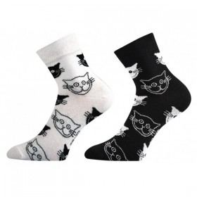 71628dbc73d XANTIPA dámské barevné ponožky - MOUREK mix 45 - Ponožkožrout.cz ...