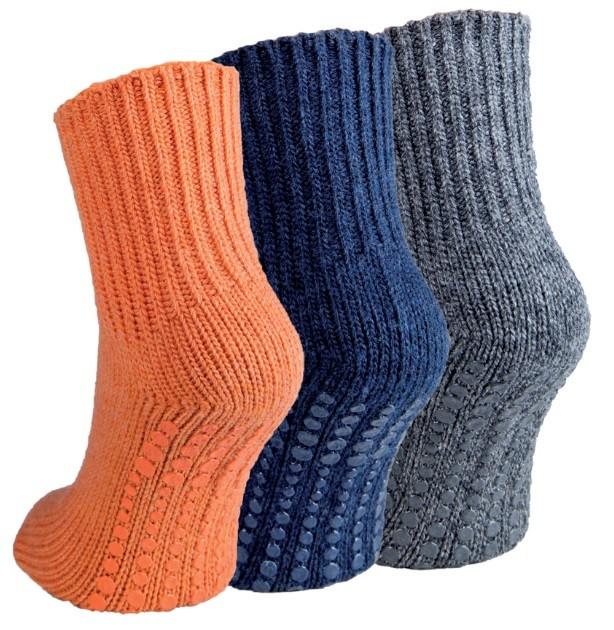 Teplé ABS protiskluzové ponožky RS