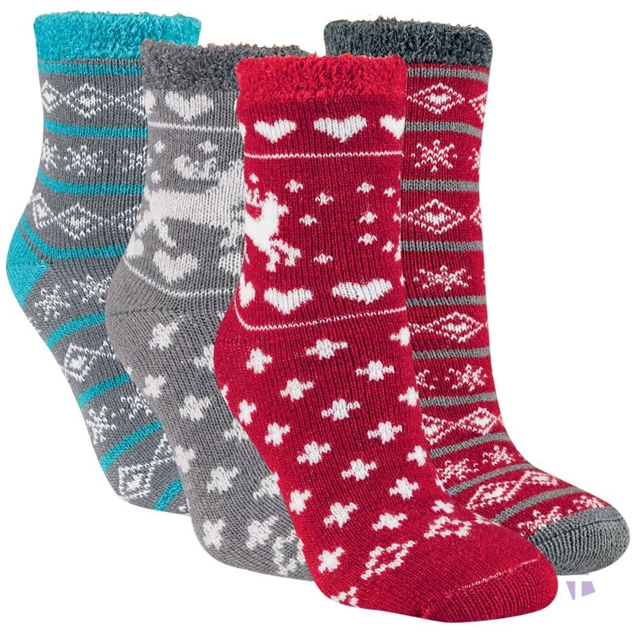 Módní teplé vzorované ponožky RS