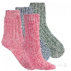 Teplé melírované dámské vlněné ponožky RS - Ponožkožrout.cz ... 79c438c7c6