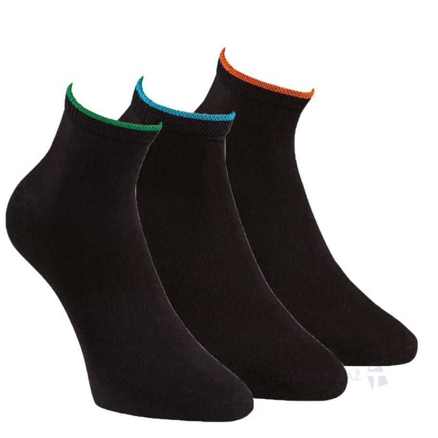 Kvalitní zdravotní bambusové zkrácené ponožky RS