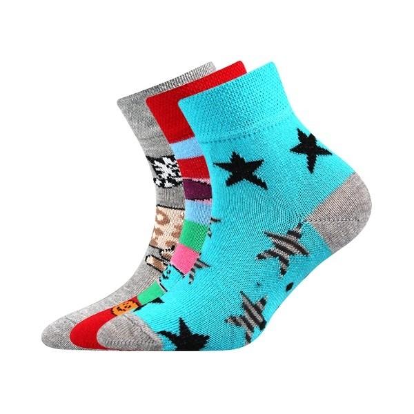 a1b311bcc26 FILIP ABS protiskluzové dětské ponožky Boma - HVĚZDY - Ponožkožrout ...
