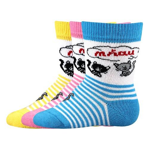 MIA kojenecké vzorované ponožky Voxx