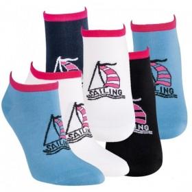 Dámské barevné módní vzorované sneaker ponožky RS - Ponožkožrout.cz ... 040788b882