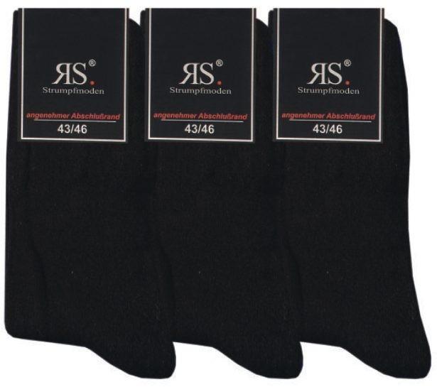 Bavlněné teplé froté ponožky RS
