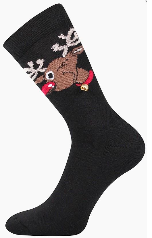 RUDY vánoční ponožky s rolničkou Lonka
