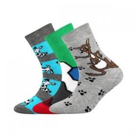 3b73d5f95ea SIBIŘ dětské froté ABS ponožky s protiskluzem - MIX 05 ...
