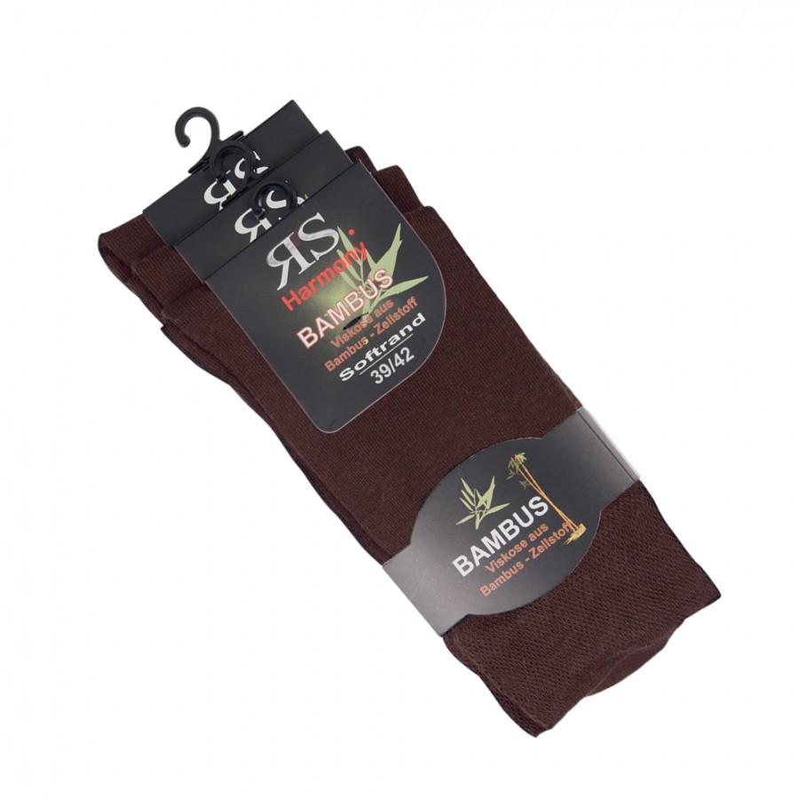 Dámské i pánské klasické bambusové ponožky RS