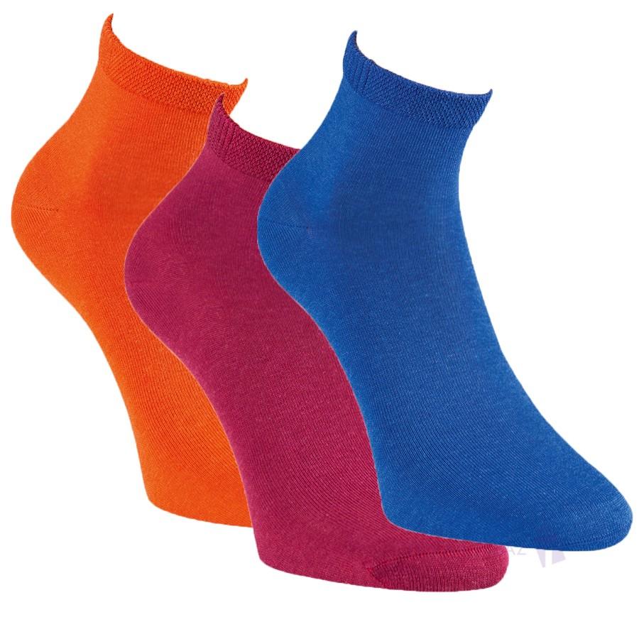Dámské letní bambusové barevné ponožky RS